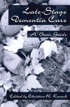 End-Stage Dementia Care: A Basic Guide (Paperback) book cover