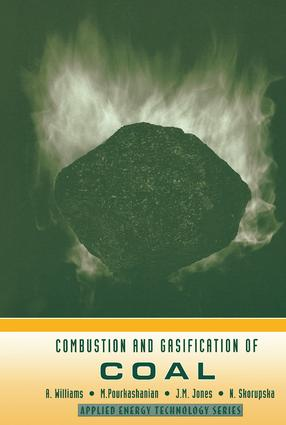 Combustion and Gasification of Coal: 1st Edition (Hardback) book cover