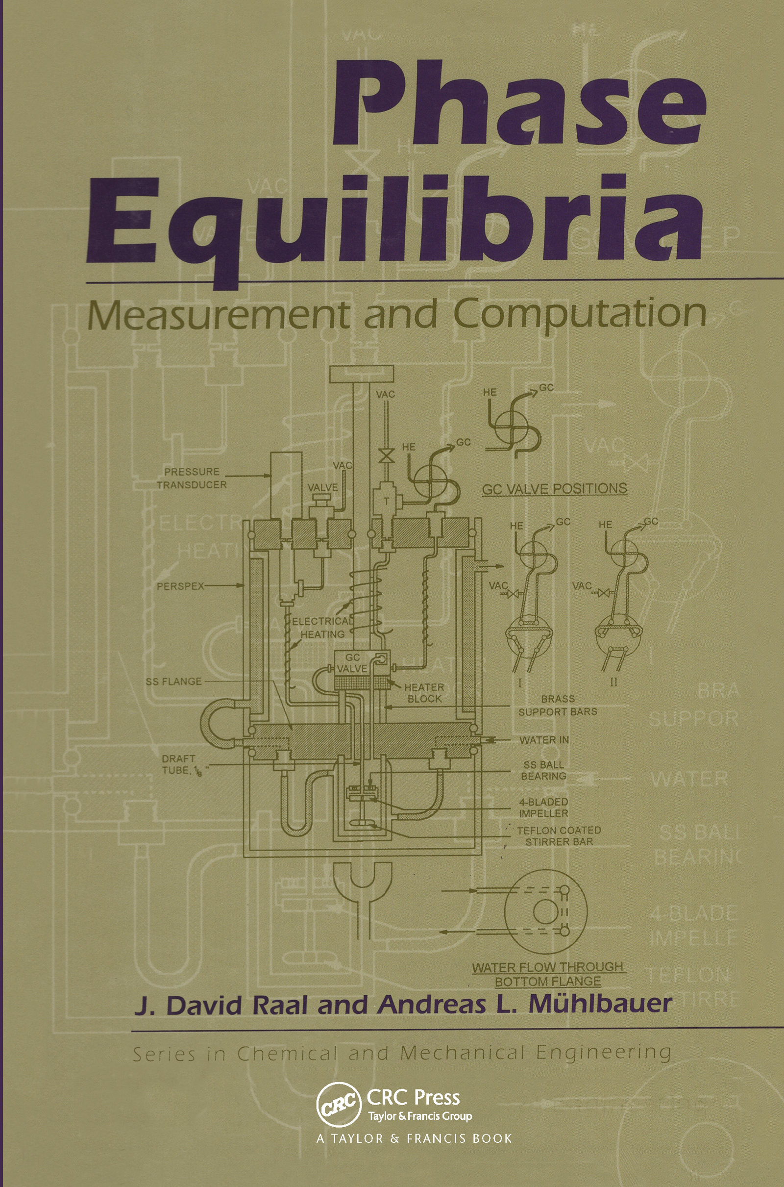 Phase Equilibria: Measurement & Computation, 1st Edition (Hardback) book cover