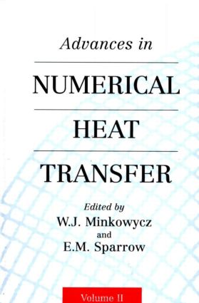 Advances in Numerical Heat Transfer, Volume 2: 1st Edition (Hardback) book cover