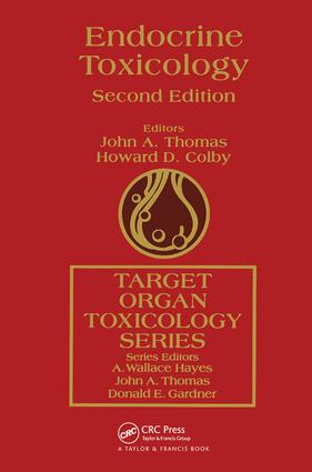 Endocrine Toxicology: 2nd Edition (Hardback) book cover