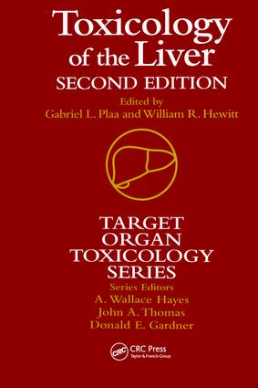 Toxicology of the Liver, Second Edition book cover