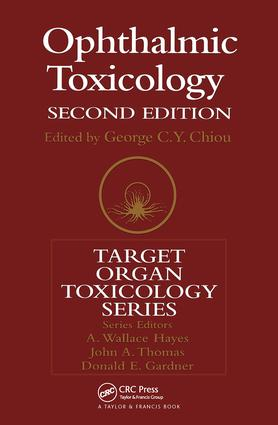 Ophthalmic Toxicology, Second Edition book cover