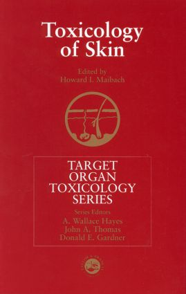Toxicology of Skin: 1st Edition (Hardback) book cover