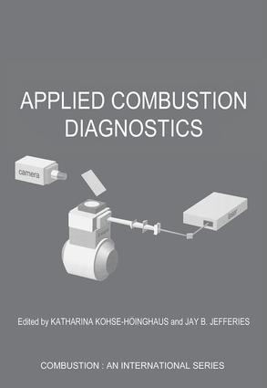 Applied Combustion Diagnostics: 1st Edition (Paperback) book cover