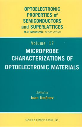 Microprobe Characterization of Optoelectronic Materials: 1st Edition (Hardback) book cover