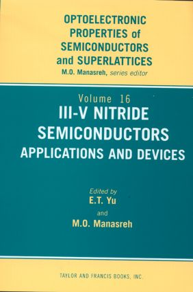 III-V Nitride Semiconductors: Applications and Devices, 1st Edition (Hardback) book cover