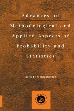 Advances on Methodological and Applied Aspects of Probability and Statistics: 1st Edition (Hardback) book cover