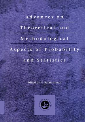 Advances on Theoretical and Methodological Aspects of Probability and Statistics: 1st Edition (Hardback) book cover