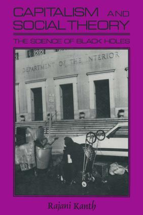 Capitalism and Social Theory: Essays and Inquiry: Essays and Inquiry, 1st Edition (Paperback) book cover