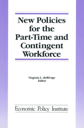 New Policies for the Part-time and Contingent Workforce: 1st Edition (Hardback) book cover