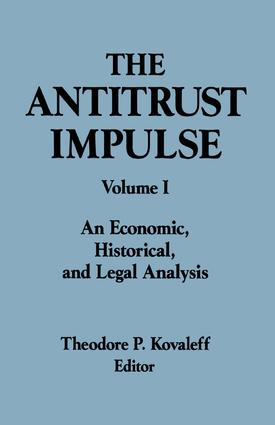 The Antitrust Division of the Department of Justice: Complete Reports of the First 100 Years, 1st Edition (Hardback) book cover