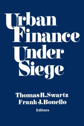Urban Finance Under Siege: 1st Edition (Paperback) book cover