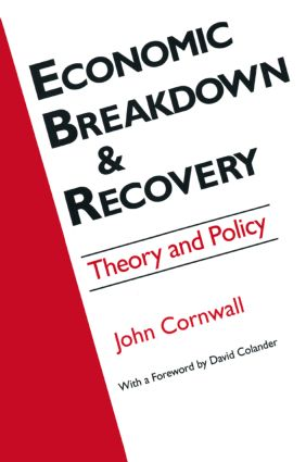 Economic Breakthrough and Recovery: Theory and Policy: Theory and Policy, 1st Edition (Hardback) book cover