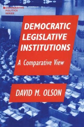 Democratic Legislative Institutions: A Comparative View