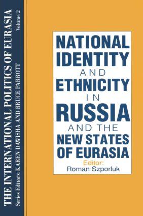 The International Politics of Eurasia: v. 2: The Influence of National Identity: 1st Edition (Hardback) book cover
