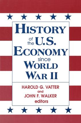 History of US Economy Since World War II: 1st Edition (Paperback) book cover
