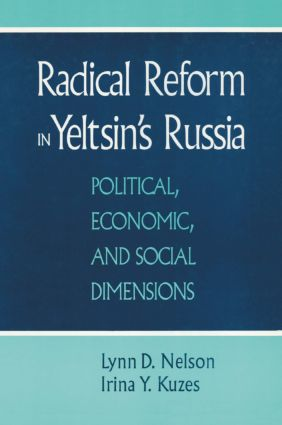Radical Reform in Yeltsin's Russia: What Went Wrong?: What Went Wrong?, 1st Edition (Paperback) book cover