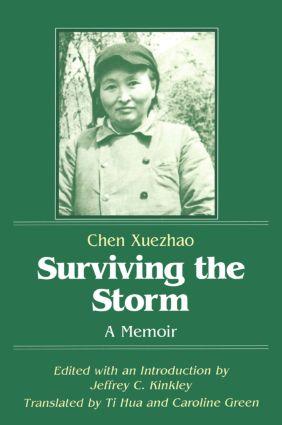 Surviving the Storm: A Memoir: A Memoir, 1st Edition (Paperback) book cover