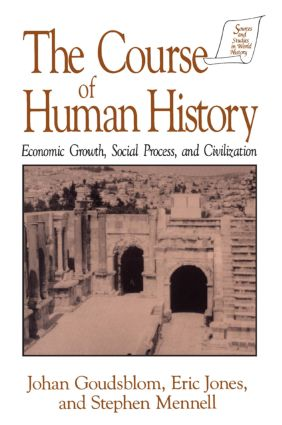 The Course of Human History: Civilization and Social Process: Civilization and Social Process, 1st Edition (Paperback) book cover