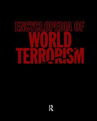 Encyclopedia of World Terrorism book cover