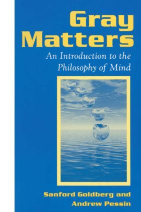 Gray Matters: Introduction to the Philosophy of Mind: Introduction to the Philosophy of Mind (Paperback) book cover