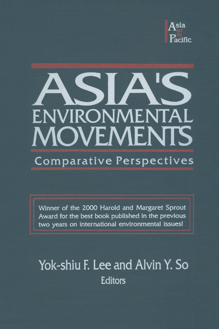 Asia's Environmental Movements in Comparative Perspective: 1st Edition (Hardback) book cover