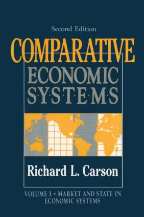 Comparative Economic Systems: v. 1