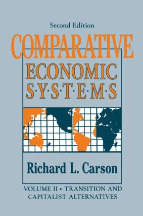 Comparative Economic Systems: v. 2: Market and State in Economic Systems, 4th Edition (Paperback) book cover
