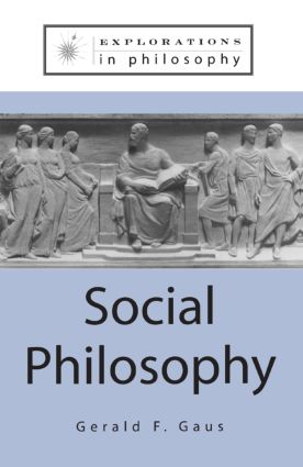 Social Philosophy: 1st Edition (Paperback) book cover