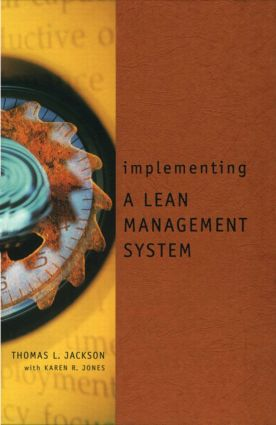 Implementing a Lean Management System: 1st Edition (Hardback) book cover
