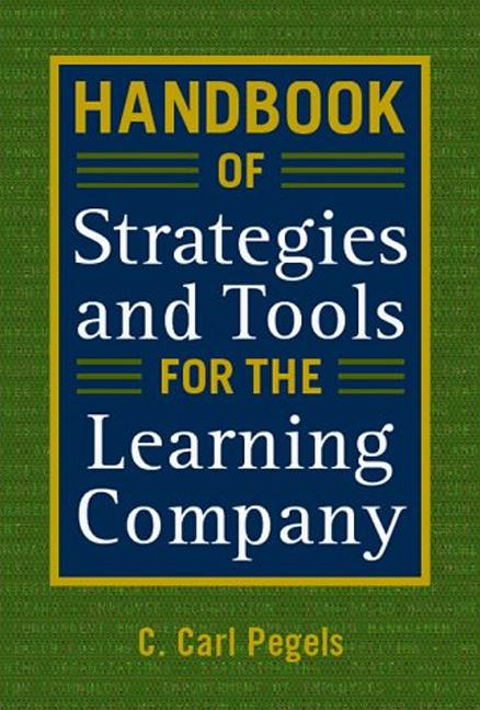 Handbook of Strategies and Tools for the Learning Company: 1st Edition (Hardback) book cover