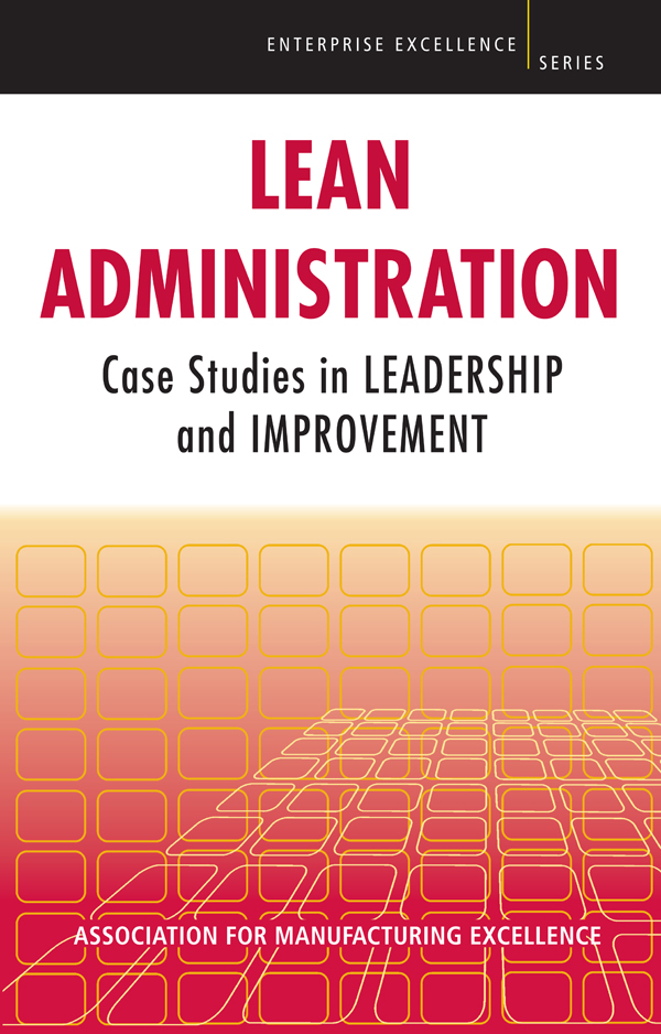 Lean Administration