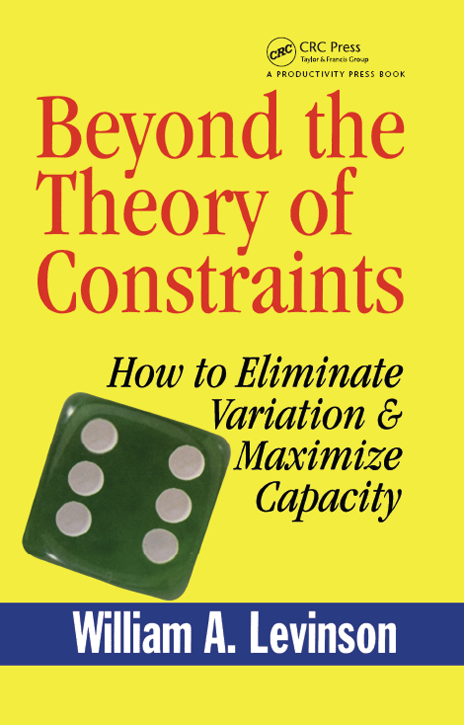 Beyond the Theory of Constraints: How to Eliminate Variation & Maximize Capacity, 1st Edition (Hardback) book cover