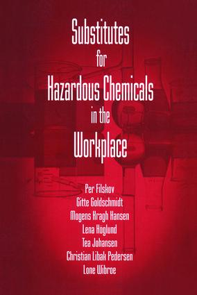 Substitutes for Hazardous Chemicals in the Workplace: 1st Edition (Paperback) book cover