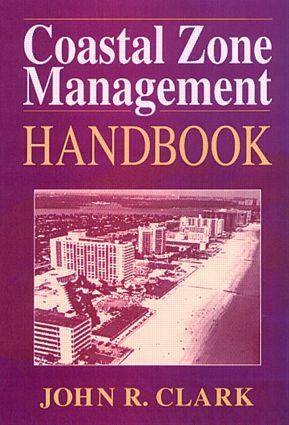 Coastal Zone Management Handbook: 1st Edition (Hardback) book cover