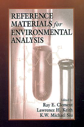 Reference Materials for Environmental Analysis: 1st Edition (Hardback) book cover