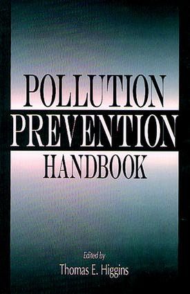 Pollution Prevention Handbook: 1st Edition (Hardback) book cover