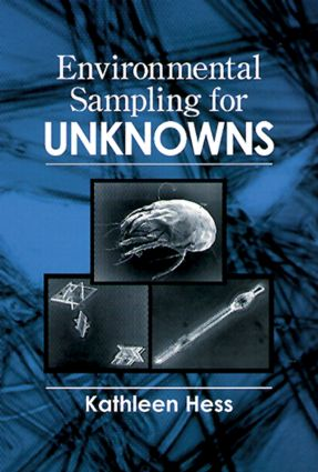 Environmental Sampling for Unknowns: 1st Edition (Hardback) book cover