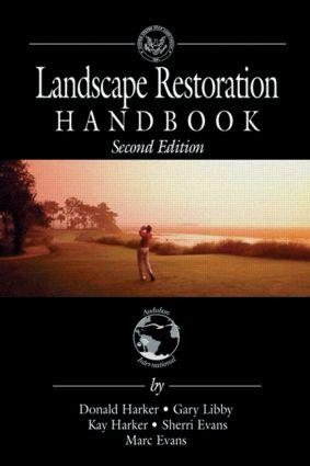 Landscape Restoration Handbook: 2nd Edition (Hardback) book cover