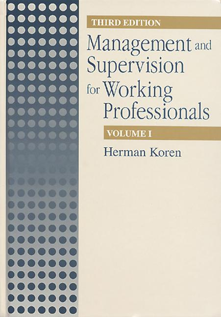 Management Supervision for Working Profiles, Third Edition, Two Volume Set: 3rd Edition (Hardback) book cover
