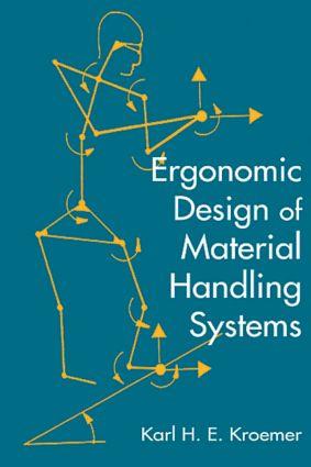 Ergonomic Design for Material Handling Systems: 1st Edition (Hardback) book cover