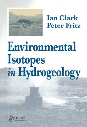 Environmental Isotopes in Hydrogeology (Hardback) book cover