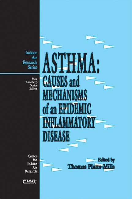 Asthma: Causes and Mechanisms, 1st Edition (Hardback) book cover