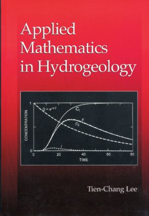 Applied Mathematics in Hydrogeology: 1st Edition (Hardback) book cover
