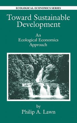 Toward Sustainable Development: An Ecological Economics Approach book cover