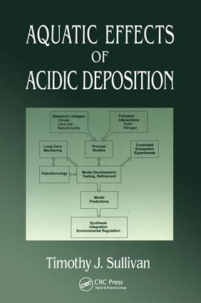 Aquatic Effects of Acidic Deposition: 1st Edition (Paperback) book cover
