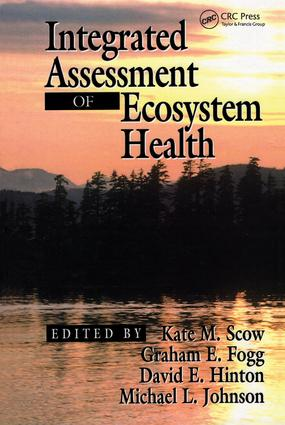 Integrated Assessment of Ecosystem Health (Hardback) book cover