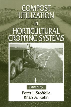 Compost Utilization In Horticultural Cropping Systems: 1st Edition (Hardback) book cover