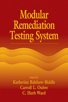 Modular Remediation Testing Systems: 1st Edition (Hardback) book cover